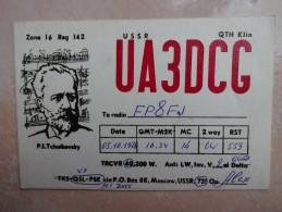CP Radio Amateur Russie Tchaikovsky UA3DCC Saint Pierre Miquelon - Amateurfunk