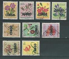 Rep Congo COB° 382-399 - 1960-1964 Repubblica Del Congo