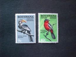 STAMPS BOTSWANA 1967 Birds MNH - Botswana (1966-...)