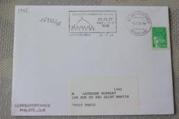 50 Manche - Flamme 1998 - AVRANCHES - Concerts Au Mont St Michel 25 26 27 Septembre 1998 - Mechanical Postmarks (Advertisement)