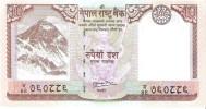 Nepal - Pick 61 - 10 Rupees 2010 - AUnc - Nepal
