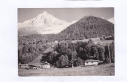 """L'Aiguille  Du  Midi.  Le  Chalet  """" La  Cordée """"  LES  BOSSONS  (Haute-Savoie)  (carte Photo) - Chamonix-Mont-Blanc"""