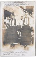 MACEDOINE - Jeunes Filles Macédoines Habillées En Dimanche - CARTE PHOTO - Macédoine