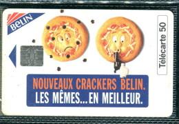 Télécarte 50 Unités : Nouveaux Crackers Belin - Tirage 1 500 000 Ex - Francia