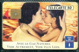 Télécarte 50 Unités : Gaz De France - Tirage  250 000 Ex - Francia
