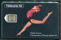 Télécarte 50 Unités : La Gymnastique, Une Passion Depuis 120 Ans - Tirage 2 000 000 Ex - Francia