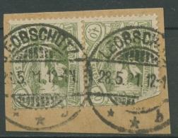 Oberschlesien LEOBSCHÜTZ B 21 (2) Auf Briefstück (OS834) - Germany