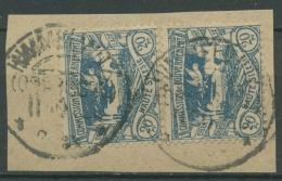 Oberschlesien HIMMELWITZ 18 (2) Auf Briefstück (OS521) - Germany