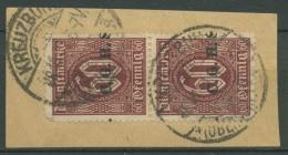 Oberschlesien KREUZBURG 1a D 15 (2) Auf Briefstück (OS761) - Germany
