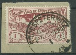 Oberschlesien GROSSPETERWITZ 26 Auf Briefstück (OS476) - Germany