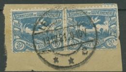 Oberschlesien LEOBSCHÜTZ C 18 (2) Auf Briefstück (OS843) - Germany
