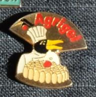 Pin´s AGRIGEL   DISTRIBUTEUR SURGELES - Pin's & Anstecknadeln