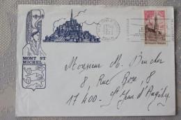 50 Manche - Flamme 1973 O= - LE MONT ST MICHEL - La Merveille De L´occident - Mechanical Postmarks (Advertisement)