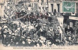 (41) Montrichard - Fêtes Des 15 16 17 Aout 1908 Le Défilé La Charrette Fleurie - 2 SCANS - Montrichard