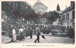 (41) Montrichard - Place Du Marché Au Beurre - 2 SCANS - Montrichard