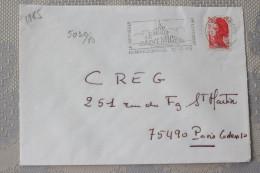 50 Manche - Flamme 1985 - LE MONT ST MICHEL - La Merveille De L´occident - Mechanical Postmarks (Advertisement)