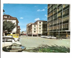 MONTHEY - VALAIS - PLACE DU COMTE VERT FONTAINE DE J. CASANOVA - VS Valais