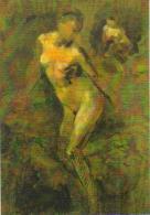 """Carte Postale édition """"Dix Et Demi Quinze"""" - Carpeaux Peintre - Musée Du Luxembourg (Femme Nue) - Peintures & Tableaux"""