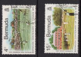 BERMUDA 1973 Tennis Values - Very Fine Used - VFU - 4B685 - Bermuda