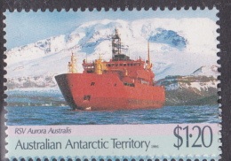 1989 AAT Australian Antarctic Territory  Antarctic  $1.20 Antarctic Treaty - RSV Aurora Australis FU - Australian Antarctic Territory (AAT)