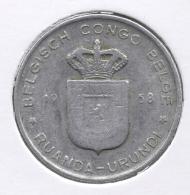 CONGO - BOUDEWIJN * 1 Frank 1958 * Nr 7531 - 1951-1960: Baudouin I