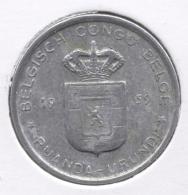 CONGO - BOUDEWIJN * 1 Frank 1959 * Nr 7534 - 1951-1960: Baudouin I
