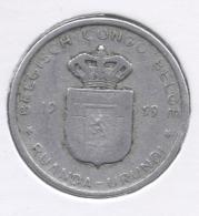 CONGO - BOUDEWIJN * 1 Frank 1959 * Nr 7535 - 1951-1960: Baudouin I