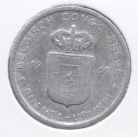 CONGO - BOUDEWIJN * 1 Frank 1959 * Nr 7536 - 1951-1960: Baudouin I