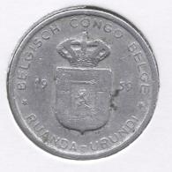 CONGO - BOUDEWIJN * 1 Frank 1959 * Nr 7537 - Belgisch-Kongo & Ruanda-Urundi