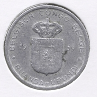 CONGO - BOUDEWIJN * 1 Frank 1959 * Nr 7537 - 1951-1960: Baudouin I