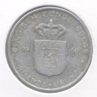 CONGO - BOUDEWIJN * 1 Frank 1960 * Nr 7541 - 1951-1960: Baudouin I