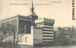 CHEVIGNY-EN-VALLIERE CHATEAU DES TOURELLES 21 - Francia