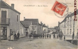 CHAUDENAY RUE DE L'EGLISE ANIMEE 71 - France