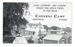 Montreal     Cheerio Camp. , Motel - Hotels & Restaurants