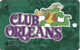 Orleans Casino Las Vegas NV - 5th Issue Slot Card - Horn Behind Club Orleans - Casino Cards