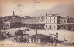 122 GRENOBLE                            La Gare Et Le Moucherotte - Grenoble