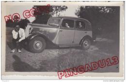 Au Plus Rapide Voiture Ancienne Renault  Beau Format - Automobile