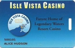 Isle Vista Casino Bayfield, WI - Slot Card - Casino Cards