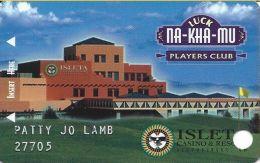 Isleta Casino Albuquerqu NM - 1st Issue Slot Card - Casino Cards