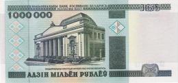 BELARUS 1,000,000 1000000 Roubles P 19 1999 **UNC** - Belarus