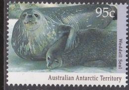 1992 AAT. Australian Antarctic Territory. 95c. Weddell Seal. MUH. - Australian Antarctic Territory (AAT)