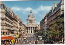 Paris: CITROËN 2CV AZU, AUTOBUS, PEUGEOT 404 & 204, OPEL REKORD COUPÉ Etc. - Rue Soufflot, Panthéon - Toerisme
