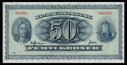 Denmark 50 Kronen 1970 VF - Denmark