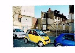 21 - DIJON - Place Grangier - Travaux En Attente à L´emplacement Du Cinéma - 2001 - FERRAROLI Chantier - Voiture Smart - Dijon