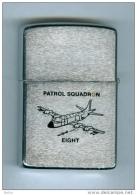 ZIPPO - U.S.S. PATROL SQUADRON, EIGHT - PATRON 8   (double Marquages) - Réf, 89 - Zippo