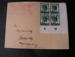 == CSR Stempel Asch ,  Briefstück  Vorderseite Only Front  1938 - Besetzungen 1938-45