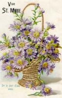 Postcard / CP / Postkaart / RELIEF / Fleurs / Flowers / Vve St. Marie / De La Part D'une Amie / Unused - Altri