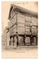Cpa   Bar Sur Seine   Maison Du XVè Siècle   TBE - Bar-sur-Seine