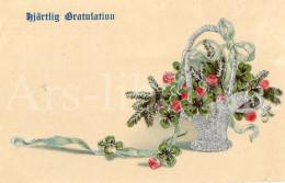 Postcard / CP / Postkaart / RELIEF / Fleurs / Flowers / Sweden / Ed. BNK / No 7859 - Sonstige