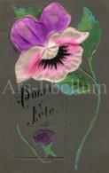 Postcard / CP / Postkaart / RELIEF / Fleurs / Flowers / Bonne Fête / 1911 - Sonstige